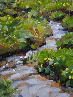 """Dresselbach"" original fine art by Carol Marine"