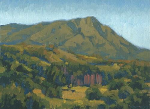 """Mt. Tam North"" original fine art by J. Thomas soltesz"