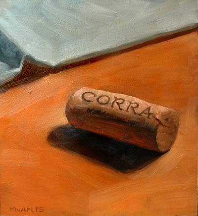 """Corra Cork"" original fine art by Michael Naples"