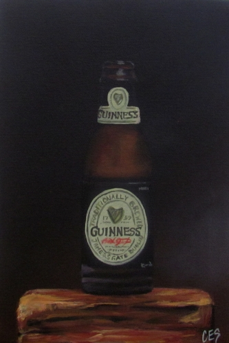 """Guiness"" original fine art by ~ces~ Christine E. S. Code"