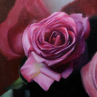 """Rose"" original fine art by Jonathan Aller"