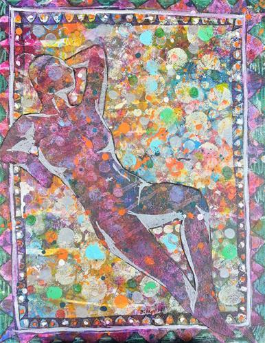 """Acceptance"" original fine art by Becky Chappell"