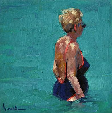 """""""Summer I"""" original fine art by Karin Jurick"""