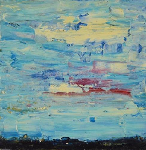 """Landscape No 18"" original fine art by Katie Jeanne Wood"