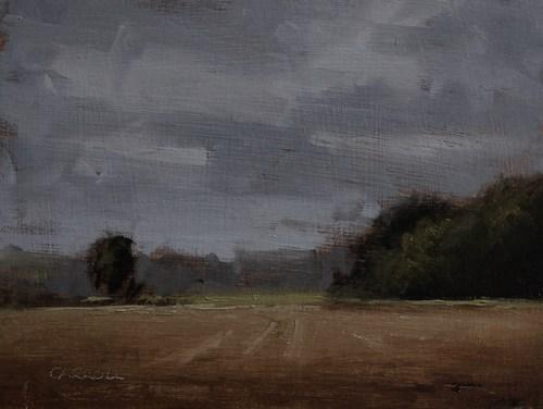"""""""September Fields"""" original fine art by Neil Carroll"""