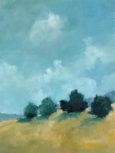 """Gold Hill"" original fine art by Pamela Munger"