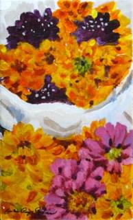 """Fall Bouquet"" original fine art by JoAnne Perez Robinson"
