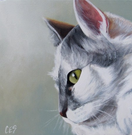 """A Touch of Grey"" original fine art by ~ces~ Christine E. S. Code"