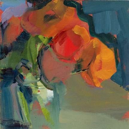 """""""1445 Swing"""" original fine art by Lisa Daria"""