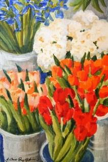 """Spring Ahead"" original fine art by JoAnne Perez Robinson"