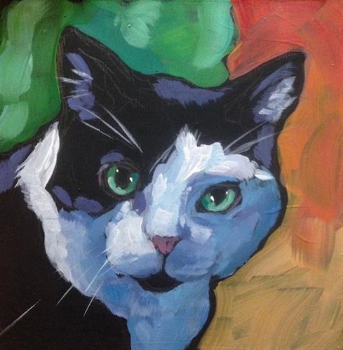 """Jackson, March 1st"" original fine art by Kat Corrigan"