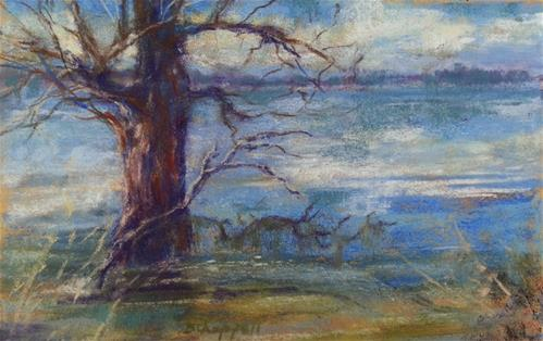 """Wildlife Guardian"" original fine art by Becky Chappell"