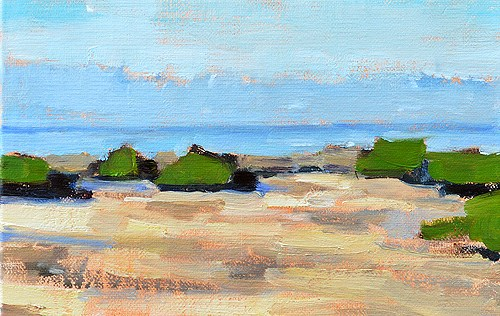 """Crystal Cove Painting"" original fine art by Kevin Inman"