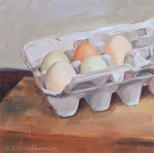 """Mixed Bag"" original fine art by Kathleen Coy"