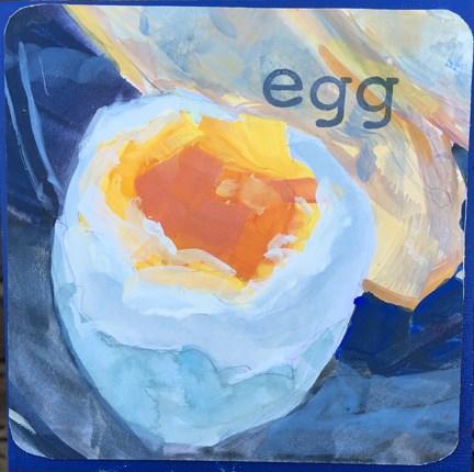 """Egg"" original fine art by Maria McNitt"
