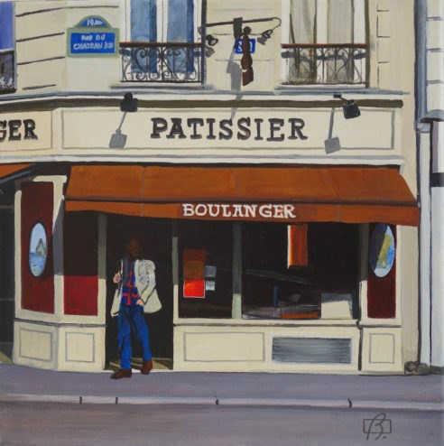"""Patissier"" original fine art by Andre Beaulieu"