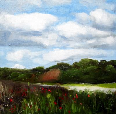 """Menemsha Hills, Martha's Vineyard"" original fine art by Michael William"