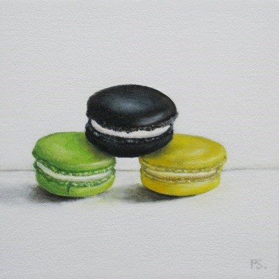 """The Black Macaroon II"" original fine art by Pera Schillings"