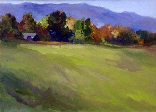 """""""Tucked Away"""" original fine art by Cathy Boyd"""