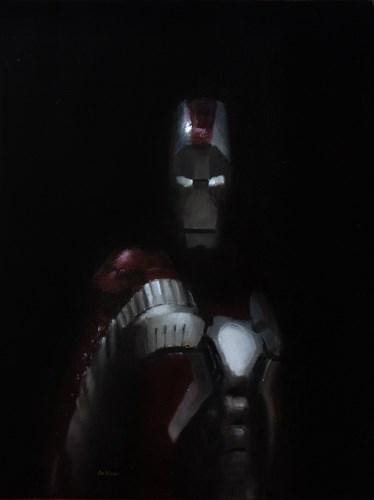 """""""Iron Man"""" original fine art by Neil Carroll"""