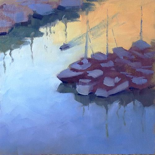 """Before Sunrise"" original fine art by Susan Matteson"
