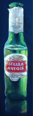 """I Love Stella...Whoever She Is"" original fine art by Cindy Gillett"