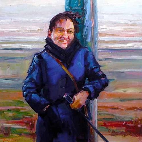 """Am Nordsee"" original fine art by Jurij Frey"