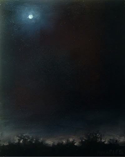 """Full Moon"" original fine art by Michael Naples"