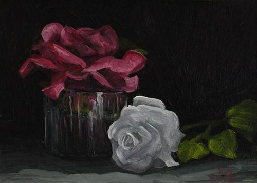 """""""Roses 130204"""" original fine art by Sue Deutscher"""