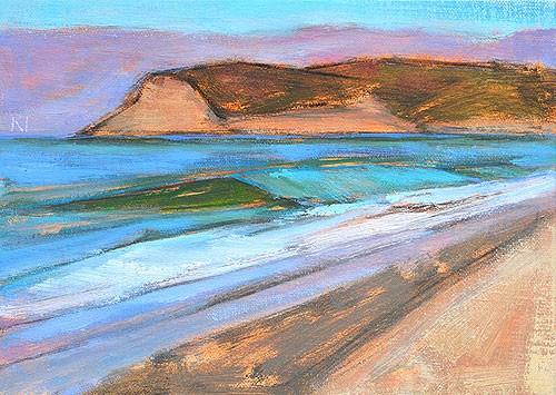 """Morning in Coronado"" original fine art by Kevin Inman"