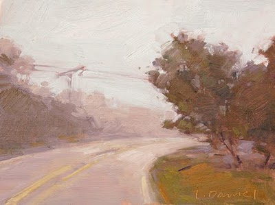 """Stormy Weather"" original fine art by Laurel Daniel"