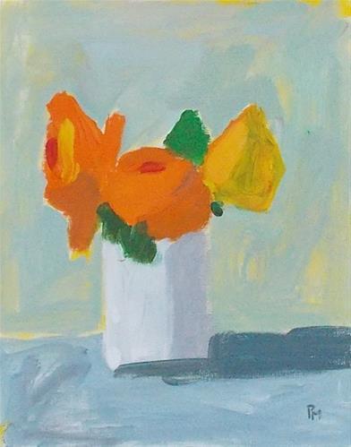 """spring flowers"" original fine art by Pamela Munger"
