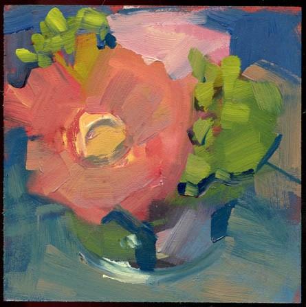 """2305 Look It Over"" original fine art by Lisa Daria"