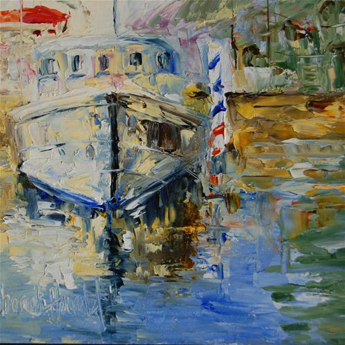 """Dock of the Bay"" original fine art by Deborah Harold"