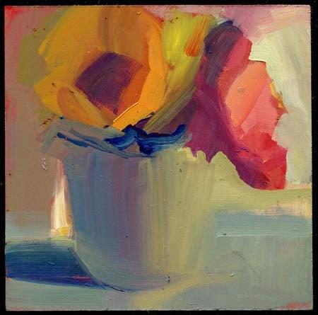 """1964 twinkling"" original fine art by Lisa Daria"