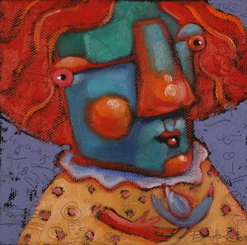 """Early Bird"" original fine art by Brenda York"