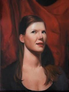 """Kate"" original fine art by Jonathan Aller"