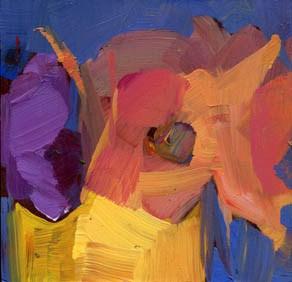 """1275 Take Three"" original fine art by Lisa Daria"