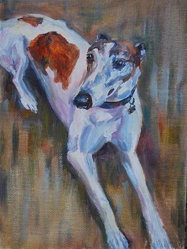 """Gordon"" original fine art by Carol DeMumbrum"