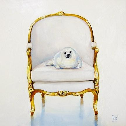 """december baby"" original fine art by Kimberly Applegate"