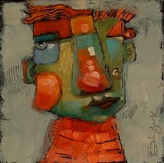 """Boy Blue"" original fine art by Brenda York"