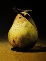 """Pears..."" original fine art by Jacqueline Gnott, TWSA, WHS"