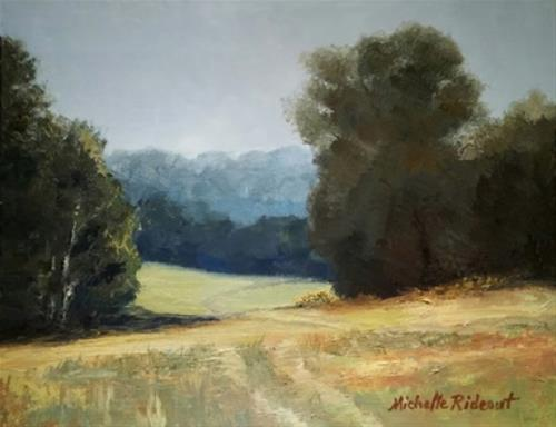 """The Road Less Traveled"" original fine art by Michelle Rideout"