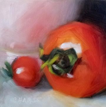 """""""Emma's Crop"""" original fine art by Cindy Haase"""