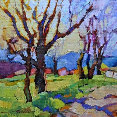 """""""Primavera Italiana (Italian Spring)"""" original fine art by Dreama Tolle Perry"""