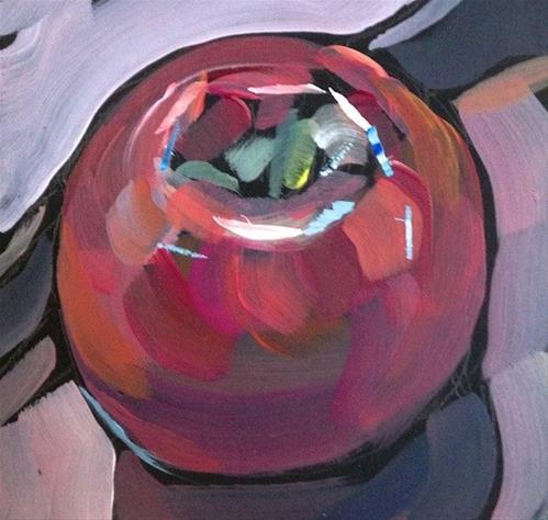 """""""Another Apple"""" original fine art by Kat Corrigan"""