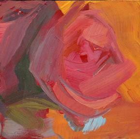 """1425 Strappy"" original fine art by Lisa Daria"