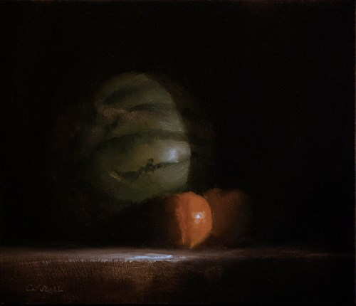 """Melon and Clems"" original fine art by Neil Carroll"