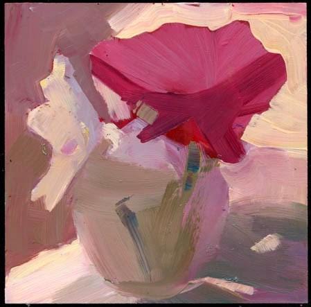 """1823 cap, gown"" original fine art by Lisa Daria"