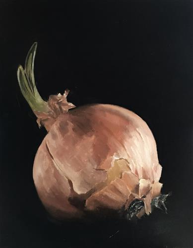 """Onion"" original fine art by James Coates"